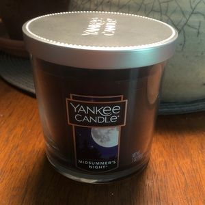 NWT Yankee Candle Midsummer's Night jar candle